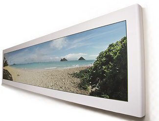 Stretch-roll canvas wrap panorama