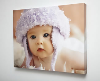 Gallery wrap elite on canvas with mirror wrap sides