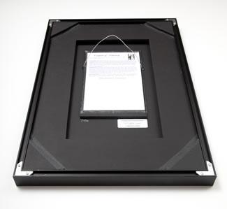 Back side of Nielsen 117 aluminum frame